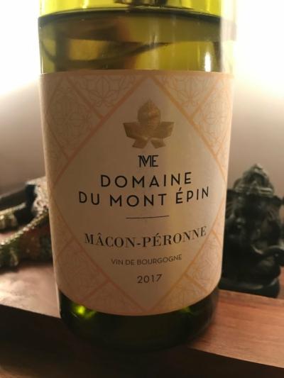 Domaine du Mont Epin Macon Peronne 2018