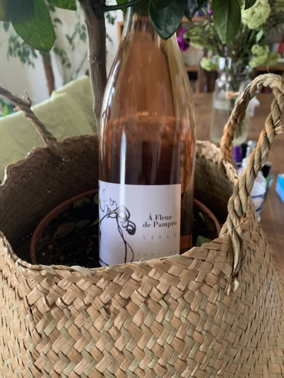 Domaine la Florane Fleur de Pampre rosé 2019