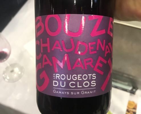 La Madone Les ROUGEOTS DU CLOS 2020